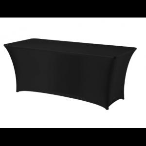Housse pour Table Rectangulaire Noire 1200 HENDI - 1