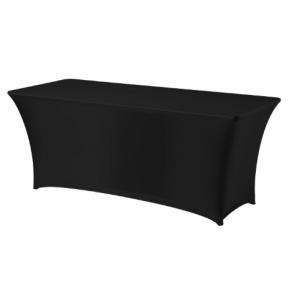 Housse pour Table Rectangulaire Noire 1500 HENDI - 1