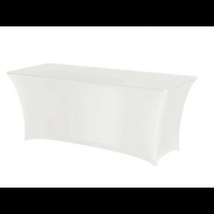 Housse pour Table Rectangulaire Blanche 1830 HENDI - 1