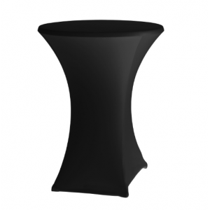 Housse Noire pour Mange Debout 80-85 cm HENDI - 1