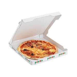 Boite à Pizza Standard - 26 x 26 cm - Lot de 100 FourniResto - 1