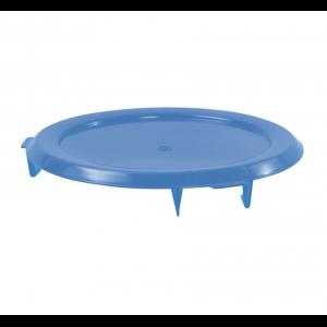 Couvercle Plat pour Conteneur Alimentaire HACCP 75L Bleu Gilac - 1