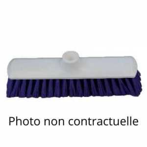 Balai Blanc 290 mm 1/2 Dur - Douille Droite FourniResto - 1