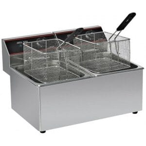 Friteuse Professionnelle 2 x 10 Litres - RECONDITIONNEE Columbia - 1