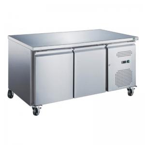 Table Réfrigérée GN 1/1 Positive Profondeur 700 - 2 Portes FourniResto - 1