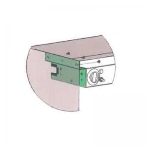 Fixation Latérale pour rampes chauffantes Sofraca - 1