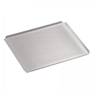 Plaque de Cuisson Aluminium Perforée GN 2/3 Bartscher - 2