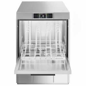 Lave-Vaisselle Professionnel Topline Frontal à Double Paroi - 50 x 50 SMEG - 2