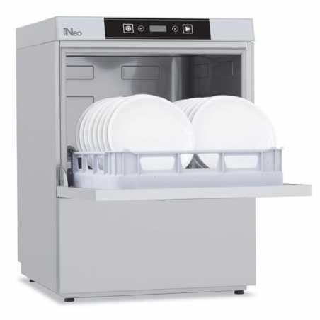 Lave Vaisselle Professionnel 50 x 50 avec Adoucisseur et Pompe de Vidange - 400 V Colged - 1