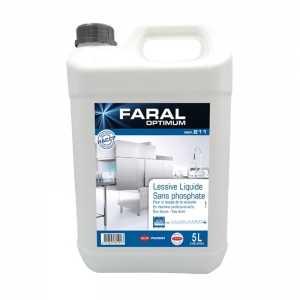 Liquide de Lavage Lave-Vaisselle - Eau Douce et Mi-Dure - 5 L FourniResto - 1