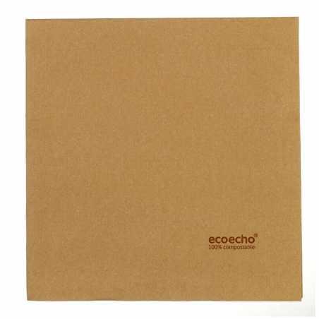 Serviette Biodégradable en Papier - 400 x 400 mm - Lot de 60 FourniResto - 1