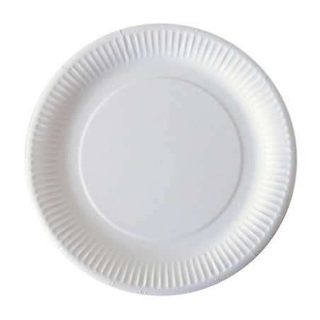 Assiettes en Carton - 23 cm - Lot de 50 FourniResto - 1