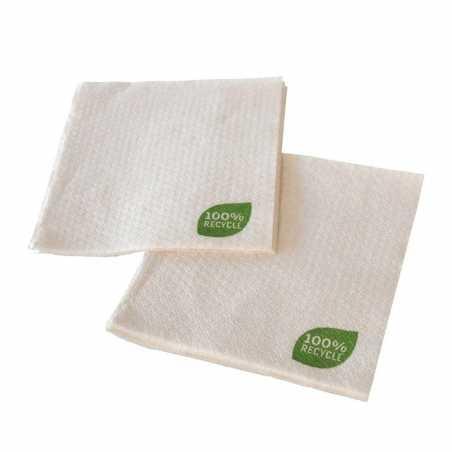 Serviette Papier Recyclé - 30 x 30 cm 1 Pli - Lot de 100 FourniResto - 1