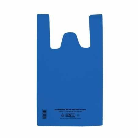 Sac à Bretelles Réutilisable Bleu - 12 L - Lot de 100 FourniResto - 1