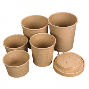 Pot en Carton - 360 ml - Lot de 50 FourniResto - 2