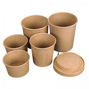Pot en Carton - 780 ml - Lot de 50 FourniResto - 3