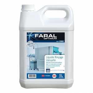 Liquide de Rinçage Lave-Vaisselle - Eau Dure et Très Dure - 5 L FourniResto - 1