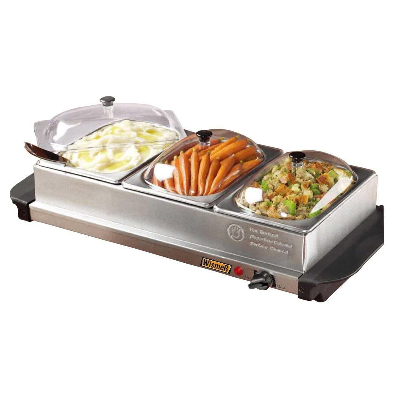Buffet chauffant 3 bacs - Maintien au chaud electrique ...
