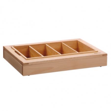 Set Modulaire Buffet - Bac à Couverts 4 Compartiments Bartscher - 1
