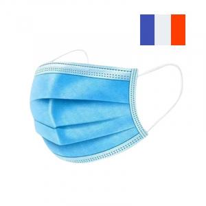 Masques Chirurgicaux Français Type IIR - Sachet de 25 FourniResto - 1