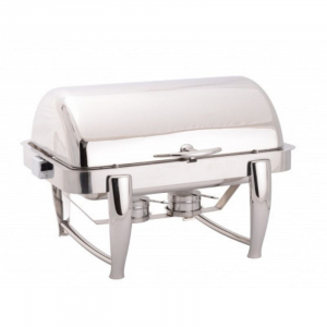 Chafing Dish GN1/1 à Couvercle Rabattable - LUXE FourniResto - 1