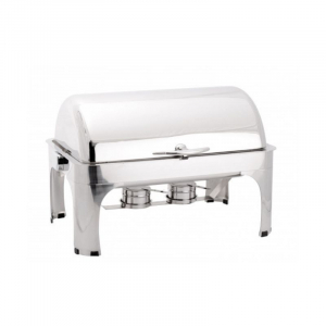 Chafing Dish GN1/1 à Couvercle Rabattable - LUXE II FourniResto - 1