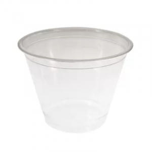Pot Transparent Plastique - 250 ml - Lot de 50 FourniResto - 1
