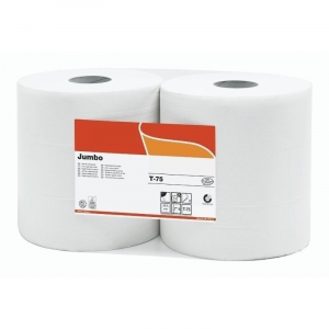Papier Toilette Maxi Jumbo 300 m - Lot de 6 FourniResto - 1