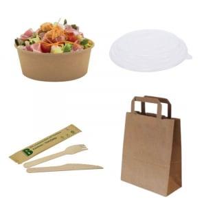 Pack Découverte Spécial Salade - 250 couverts FourniResto - 1