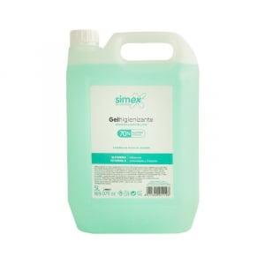 Gel Hydroalcoolique sans Parfum - 5L FourniResto - 1