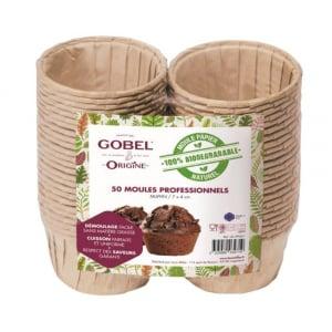 Moules à Muffin Jetables en Papier - 7,2 x 4 cm - Lot de 50 Gobel - 1