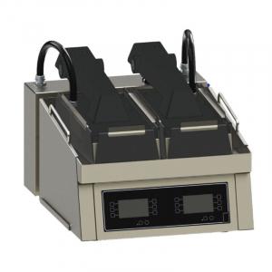 Clamshell Grill Compact sur Comptoir - 2 Zones de Cuisson FKI - 1
