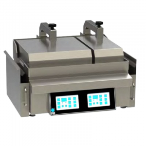 Clamshell Grill Turbomatique sur Comptoir - 2 Zones de Cuisson FKI - 1