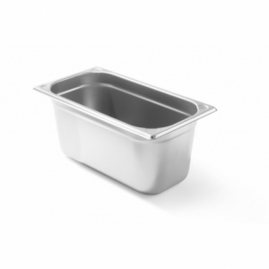 Bac Gastronorme Kitchen Line GN 1/3 - 3,4 L - H 100 mm HENDI - 1