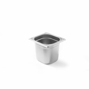 Bac Gastronorme Kitchen Line GN 1/6 - 1,6 L - H 100 mm HENDI - 1