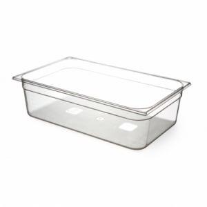 Bac Gastronorme en Tritan-Plastique GN 1/1 - 21 L - H 150 mm HENDI - 1