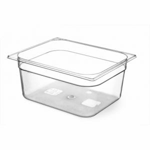 Bac Gastronorme en Tritan-Plastique GN 1/2 - 6,5 L - H 100 mm HENDI - 1