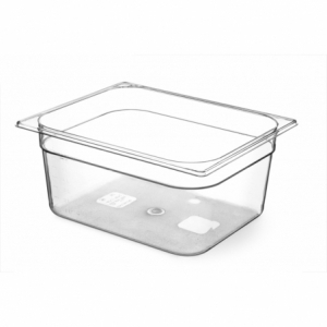 Bac Gastronorme en Tritan-Plastique GN 1/2 - 4 L - H 65 mm HENDI - 1