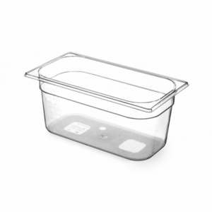 Bac Gastronorme en Tritan-Plastique GN 1/3 - 5,7 L - H 150 mm HENDI - 1