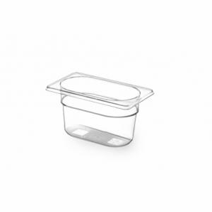 Bac Gastronorme en Tritan-Plastique GN 1/9 - 0,6 L - H 65 mm HENDI - 1