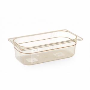 Bac Gastronorme GN 1/3 - Résistant aux Températures Elevées - 3,8 L - H 100 mm HENDI - 1