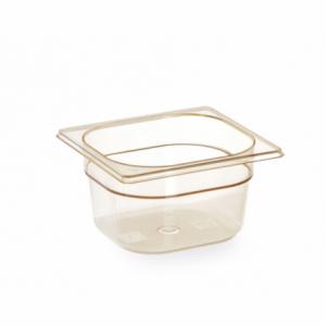 Bac Gastronorme GN 1/6 - Résistant aux Températures Elevées - 1,6 L - H 100 mm HENDI - 1