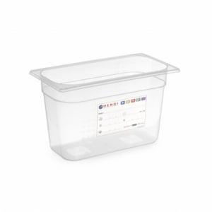Boîte de Stockage Gastronorme GN 1/3 - 5,7 L - H 150 mm HENDI - 1