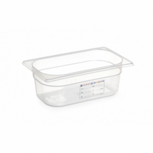 Boîte de Stockage Gastronorme GN 1/4 - 4 L - H 150 mm HENDI - 1