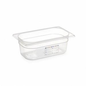 Boîte de Stockage Gastronorme GN 1/4 - 2,8 L - H 100 mm HENDI - 1