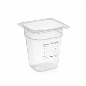 Boîte de Stockage Gastronorme GN 1/6 - 1 L - H 65 mm HENDI - 1