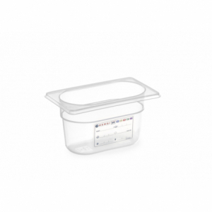 Boîte de Stockage Gastronorme GN 1/9 - 1 L - H 100 mm HENDI - 1