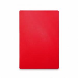 Planche à Découper HACCP - 600x400 - Rouge - 18 mm d'Epaisseur HENDI - 1