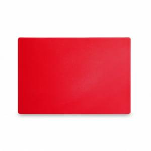 Planche à Découper HACCP - 450x300 - Rouge - 13 mm d'Epaisseur HENDI - 1