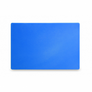 Planche à Découper HACCP - 450x300 - Bleu - 13 mm d'Epaisseur HENDI - 1